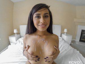 Povd Eva Saldana in Tight Muscles, Tighter Pussy